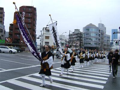 神戸市内を唱題行脚