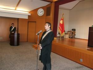 伊東立正平和運動推進担当委員長