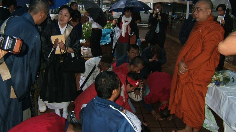 10.1ミャンマー祈りの法要