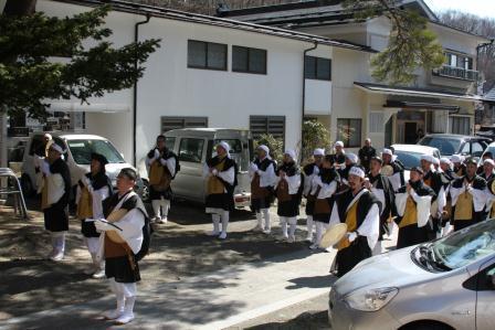 東日本大震災第3回忌慰霊唱題行脚